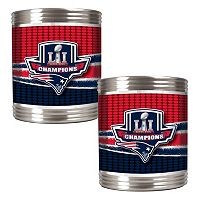 New England Patriots Super Bowl LI Champions Can Holder Set