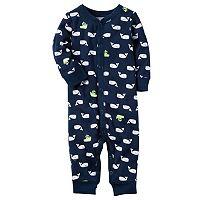 Baby Boy Carter's Print One-Piece Pajamas