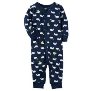 Baby Boy Carter's Print One-Piece Pajamas