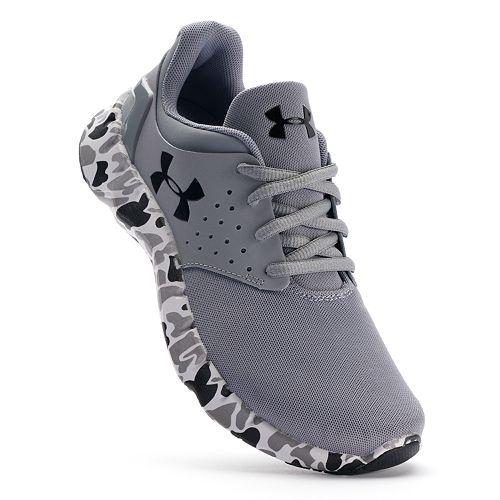 89fc7ea5dc703 Under Armour Flow Grade School Boys' Camo Running Shoes