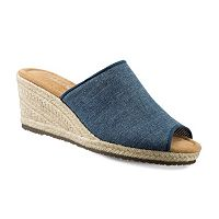 Skechers Monarchs Women's Espadrille Wedge Sandals