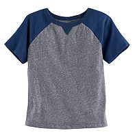 Toddler Boy Jumping Beans® Slubbed Raglan Tee