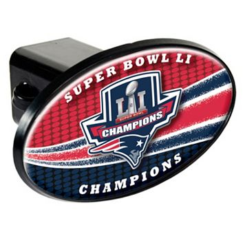 New England Patriots Super Bowl LI Champions Trailer Hitch Cover