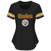 Women's Majestic Pittsburgh Steelers Tailgate Tee