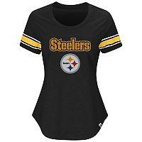 Women's Majestic Pittsburgh Steelers Tailgate Tee