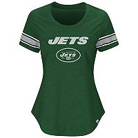 Women's Majestic New York Jets Tailgate Tee