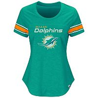 Women's Majestic Miami Dolphins Tailgate Tee
