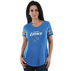 Women's Majestic Detroit Lions Tailgate Tee