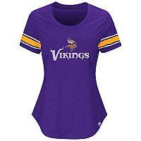 Women's Majestic Minnesota Vikings Tailgate Tee