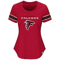Women's Majestic Atlanta Falcons Tailgate Tee