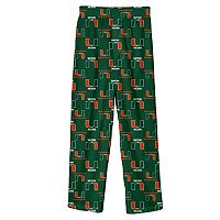 Boys 8-20 Miami Hurricanes Lounge Pants
