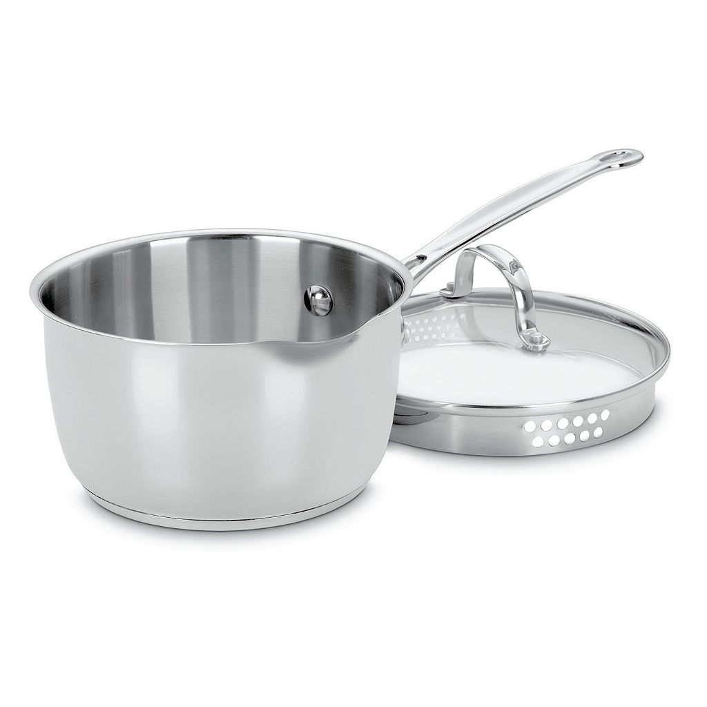 Cuisinart Chef's Classic Stainless Steel 2-qt. Saucepan with Pour Spout
