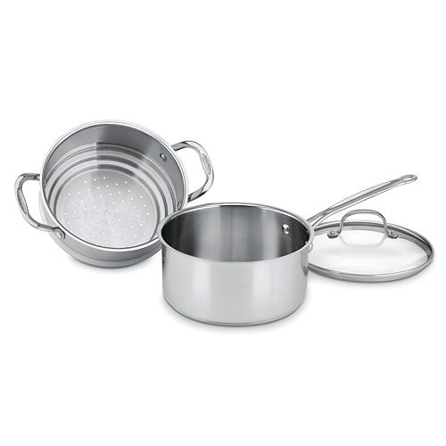 Cuisinart Chef's Classic Stainless Steel 3-qt. Steamer Set