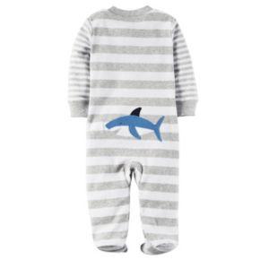 Baby Boy Carter's Striped Applique Sleep & Play