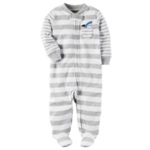 Baby Boy Carter's Striped Applique Sleep & Play