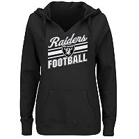 Women's Majestic Oakland Raiders Highlight Play Hoodie