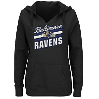 Women's Majestic Baltimore Ravens Highlight Play Hoodie