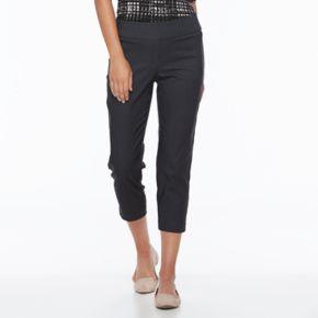 Women's Apt. 9® Millenium Capri Dress Pants