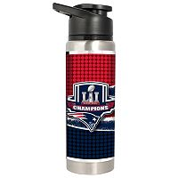 New England Patriots Super Bowl LI Champions Stainless Steel Water Bottle