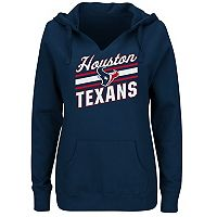 Women's Majestic Houston Texans Highlight Play Hoodie