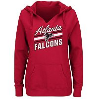 Women's Majestic Atlanta Falcons Highlight Play Hoodie