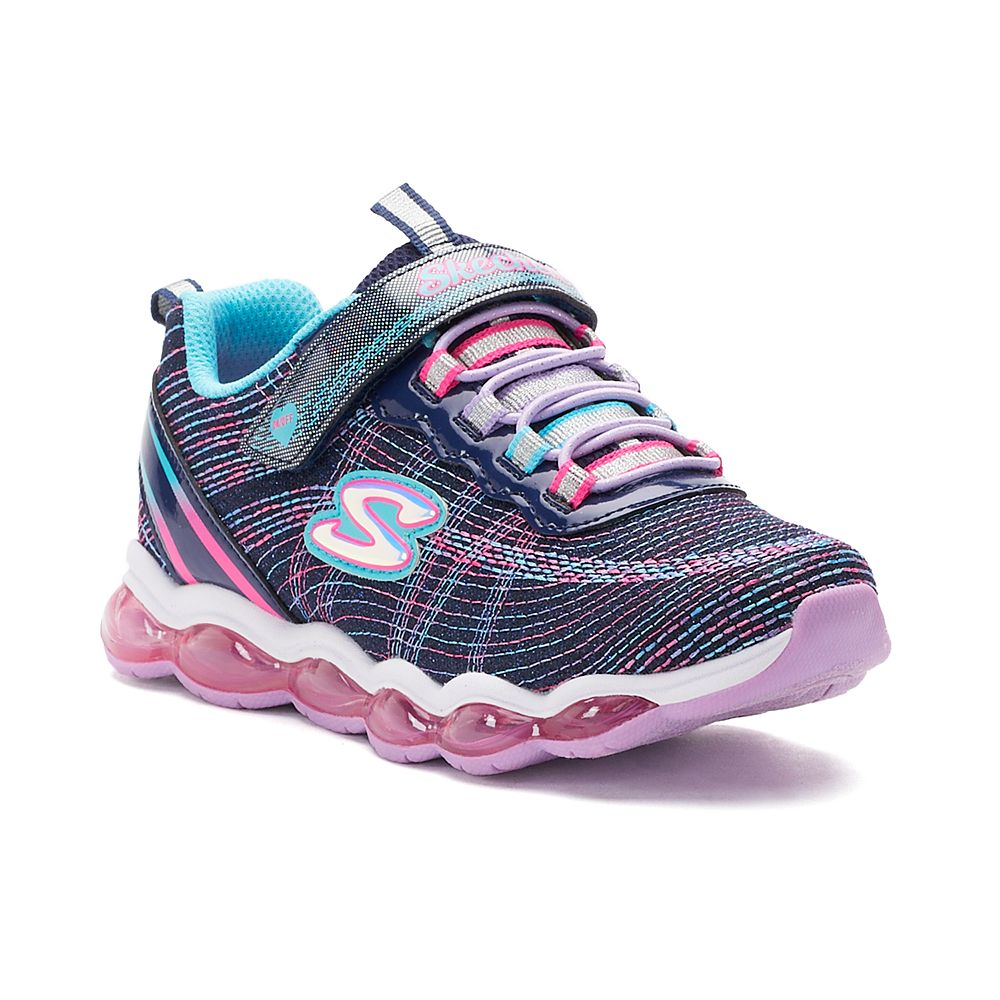 Skechers Glimmer Lights Girls Light Up Shoes