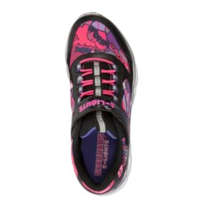 Skechers S Lights Lumi-Luxe Girls' Light-Up Shoes