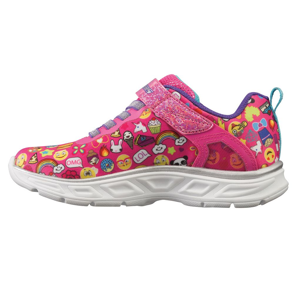 Skechers Litebeams Feelin Girls' Light-Up Shoes