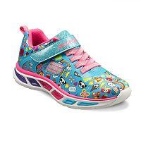 Skechers Litebeams Feelin Girls' Light-Up Shoes