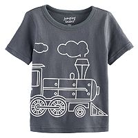 Baby Boy Jumping Beans® Train Softest Graphic Tee