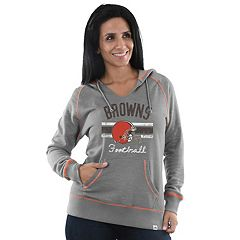 Women's Majestic Cleveland Browns Football Hoodie