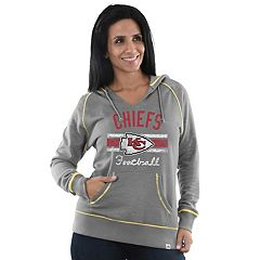 Women's Majestic Kansas City Chiefs Football Hoodie