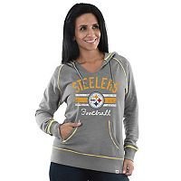 Women's Majestic Pittsburgh Steelers Football Hoodie