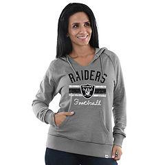 Women's Majestic Oakland Raiders Football Hoodie