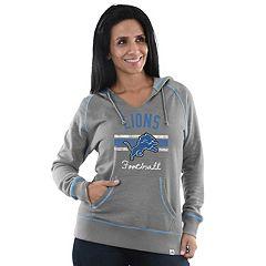 Women's Majestic Detroit Lions Football Hoodie