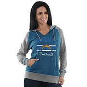 Women's Majestic Los Angeles Chargers Football Hoodie