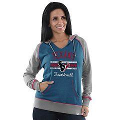 Women's Majestic Houston Texans Football Hoodie