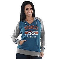 Women's Majestic Denver Broncos Football Hoodie