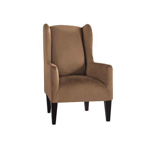 Serta Stretch Fit Wingback Chair Slipcover