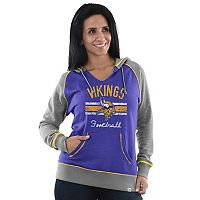 Women's Majestic Minnesota Vikings Football Hoodie