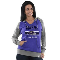Women's Majestic Baltimore Ravens Football Hoodie