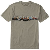 Men's Newport Blue Car Tee