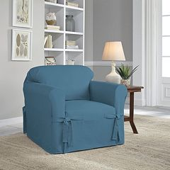 Serta Relaxed Fit Duck Chair Slipcover