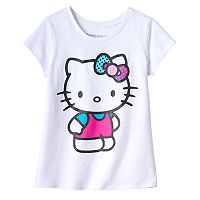 Girls 7-16 Hello Kitty® Glitter Tee