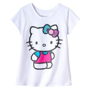 Girls 7-16 Hello Kitty® Glitter Tee