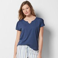 Women's SONOMA Goods for Life™ Pajamas: Notch Neck Tee