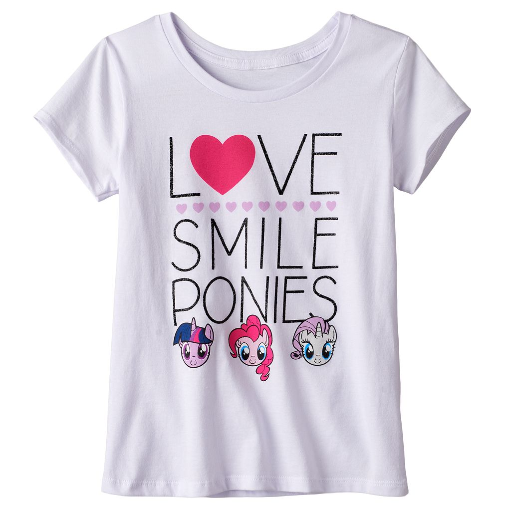 Girls 7-16 My Little Pony Twilight Sparkle, Pinkie Pie & Rarity