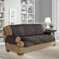 Serta Ultra Suede Sofa Slipcover
