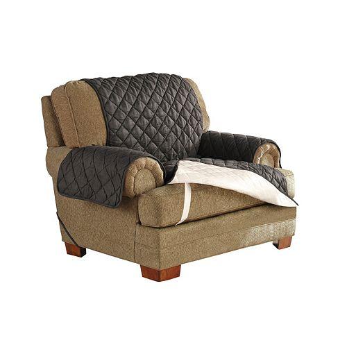 Serta Ultra Suede Waterproof Chair Slipcover