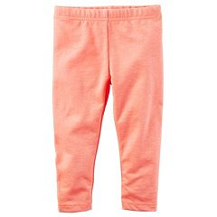 Girls 4-8 Carter's Solid Capri Leggings